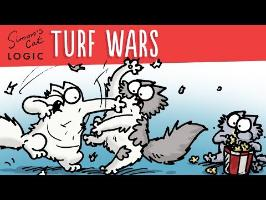 Territorial Behaviour! - Simon's Cat | LOGIC