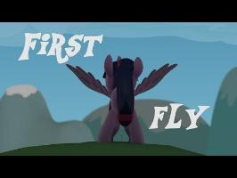 First Fly MLP 3D ANIMATION
