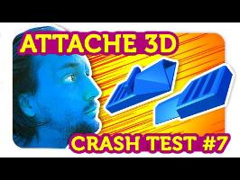 UNE BOUCLE D'ATTACHE 3D ?!? Crash Test Impression 3D