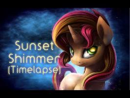 Sunset Shimmer_Portrait