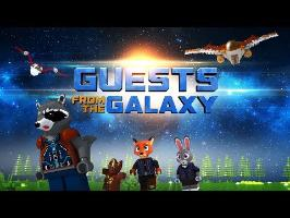 Guests from the galaxy (Guardians of the galaxy + Zootopia parody crossover animation)