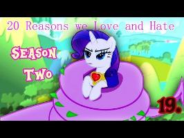 20 Reasons we Love and Hate Season Two of MLPFIM