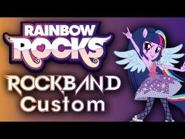 Daniel Ingram - Rainbow Rocks - Rock Band 3 Custom