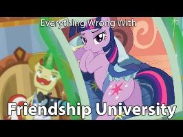 Everything Wrong With My Little Pony Season 8 Friendship University