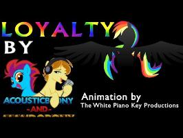 Loyalty - by AcousticBrony & MandoPony [LYRIC VIDEO/TYPOGRAPHY]