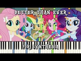 MLP:EQG - Better than Ever for Synthesia
