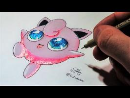 Comment dessiner Rondoudou Kawaii [Tutoriel] + Brillant