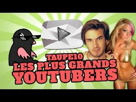 TOP10 des plus grands YOUTUBERS au monde