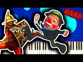 ENTRY OF THE GLADIATORS (The Clown Song) - Piano Tutorial