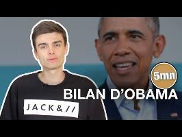 LE BILAN D'OBAMA - 5 minutes pour décrypter