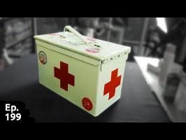 modification d'une boite de munition pour le transformer en boîte à pharmacie super custom - ep199