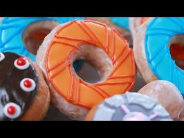 HOW TO MAKE PORTAL DONUTS - NERDY NUMMIES