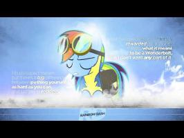 Rainbow Dash Sings: Wonderbolt