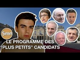 Le programme des 6 autres candidats (Poutou, Asselineau, Lassalle...) - 5 minutes pour décrypter