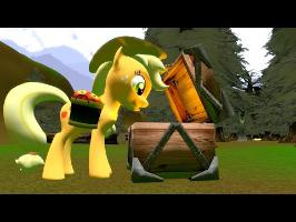 Cursed Pony Magic: Applejack