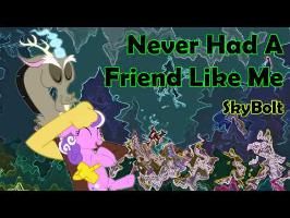 Never Had A Friend Like Me (Screwball & Discord) - SkyBolt (Aladdin, Ponified)