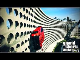 GTA 5 IMPOSSIBLE STUNTS 2 | Nomad Union Stunt Montage - Omega