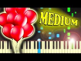 NENA - 99 LUFTBALLONS (99 RED BALLOONS) - Piano Tutorial