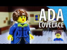 La première programmeuse de l'histoire - Ada Lovelace en LEGO stop motion ft Monsieur Caron