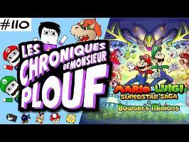 Mario & Luigi Superstar Saga - Chroniques de Monsieur Plouf #110