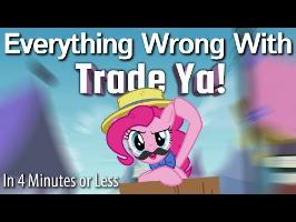 (Parody) Everything Wrong With Trade Ya! In 4 Minutes or Less