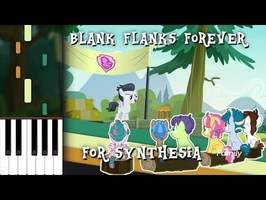 MLP - Blank Flanks Forever Synthesia Piano Cover