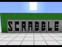 Scrabble Spell Checker in Minecraft
