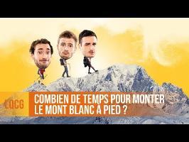 LQCG - Combien de temps pour gravir le Mont Blanc à pied ? (STEEP)