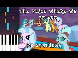 The Place Where We Belong - MLP:FIM - Synthesia [Piano Tutorial]
