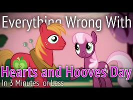 (Parody) Everything Wrong With Hearts and Hooves Day in 3 Minutes or Less