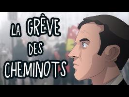 La GRÈVE des CHEMINOTS - ACTU ANIMÉE #18