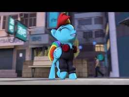 [SFM] MoonWalk Pony
