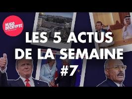 JTRUMP, MACRON AU QATAR, YEMEN... RÉSUMÉ DES 5 ACTUS DE LA SEMAINE #7
