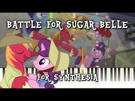 MLP - Battle for Sugar Belle for Synthesia [Piano Cover] +MIDI Download