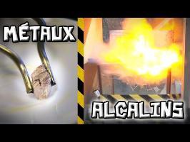 Des métaux qui Explosent dans l'eau ! - [Science 2.0]