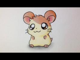 Comment dessiner un Hamster Kawaii [Tutoriel] 'Hamtaro'