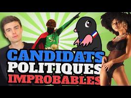 TOP 10 des CANDIDATS POLITIQUES les plus IMPROBABLES feat. HugoDécrypte