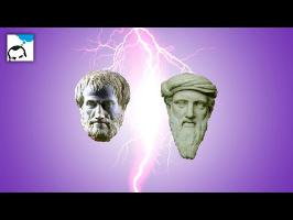 Aristote clashe Pythagore - Flash 03 - e-penser