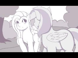 Fluttershy's Confession Rehearsal (Animatic)