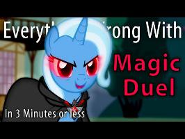 (Parody) Everything Wrong With Magic Duel in 3 Minutes or less