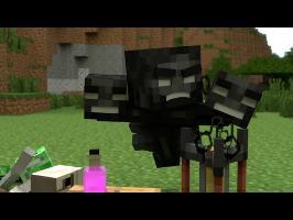 Monster School (Preschool) - Brewing - Minecraft Animation