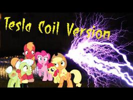Apples to the Core - Musical Tesla Coil