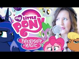CAN'T STOP THE FEELING (Sung In MLP Voices)