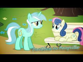 MLP:FiM - Pantsless in Ponyville [Animation]