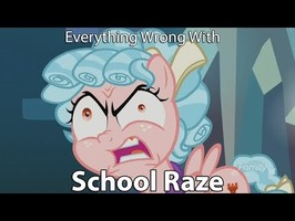 Everything Wrong With My Little Pony Season 8 School Raze
