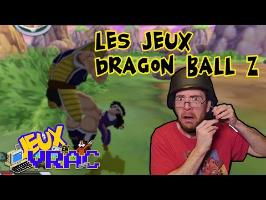 JEUX EN VRAC - Les jeux DRAGON BALL Z