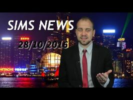 Sims News 28 Octobre 2016