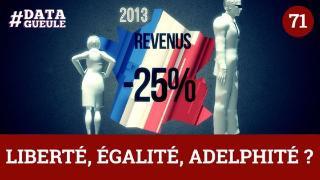 Inégalité des sexes : « Liberté, Égalité, Adelphité » - #DATAGUEULE 71