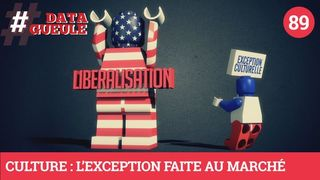 Culture : L'exception faite au marché - #DATAGUEULE 89