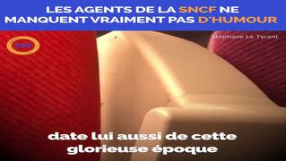 Quand les agents SNCF ont de l'humour 🤣😂